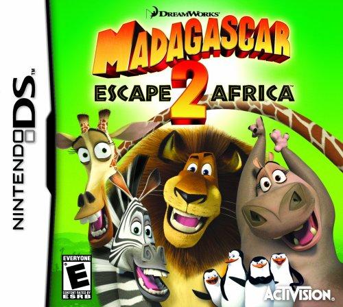 Nintendo Ds - Madagascar: Escape 2 Africa / Game