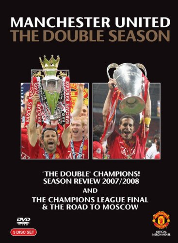 Manchester-United-Double-Season-Double-Pack-3-Discs-DVD-CD-70VG