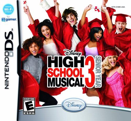 Nintendo Ds - High School Musical 3: Senior Year / Game
