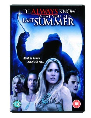 I-039-ll-Always-Know-What-You-Did-Last-Summer-DVD-CD-CSVG-FREE-Shipping