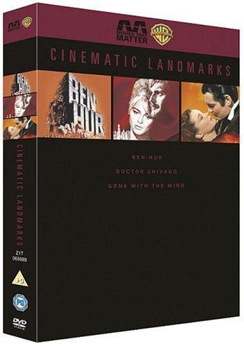 Cinematic Landmarks: Ben-Hur / Doctor Zhivago / Gone With The Wind