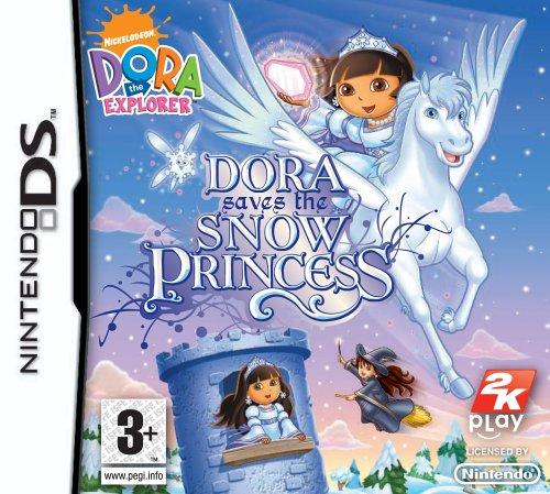 Dora the Explorer: Dora Saves the Snow Princess (Nintendo DS)