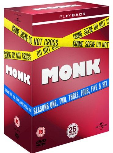 Monk Seasons 1-6