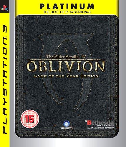 The Elder Scrolls IV: Oblivion - Game of the Year - Platinum (PS3)