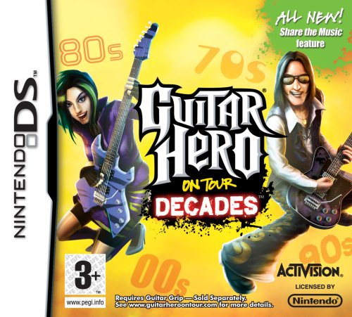 Guitar Hero On Tour: Decades - Game Only (Nintendo DS)