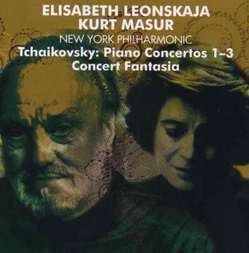 Elisabeth Leonskaja - Tchaikovsky : Piano Concertos Nos 1 - 3 & Concert Fantasia