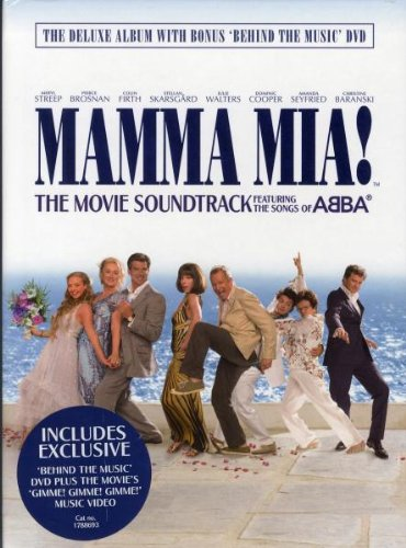 Cast Of Mamma Mia The Movie - Mamma Mia! The Movie Soundtrack (Deluxe Packaging including A5 Hardbac