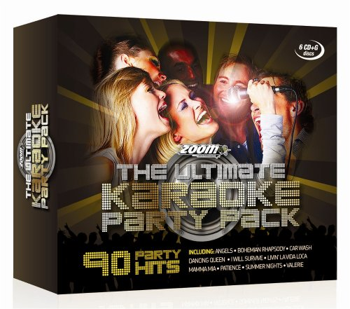 Zoom Karaoke - The Ultimate Karaoke Party Pack - 6 CD+G Box Set - from Zoom Karaoke By Zoom Karaoke