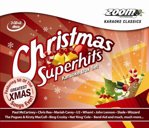 Zoom Karaoke - Zoom Karaoke - Christmas Superhits Box Set - 54 Songs - Triple CD+G Set