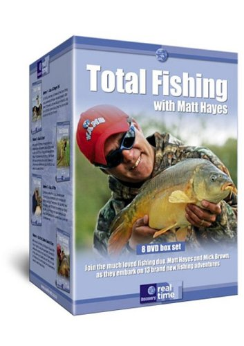 Total-Fishing-With-Matt-Hayes-DVD-CD-PEVG-FREE-Shipping