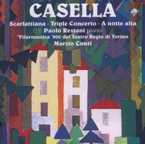 Casella - Triple Concerto (Restani, Conti, Filarmonica 900 of the Teat