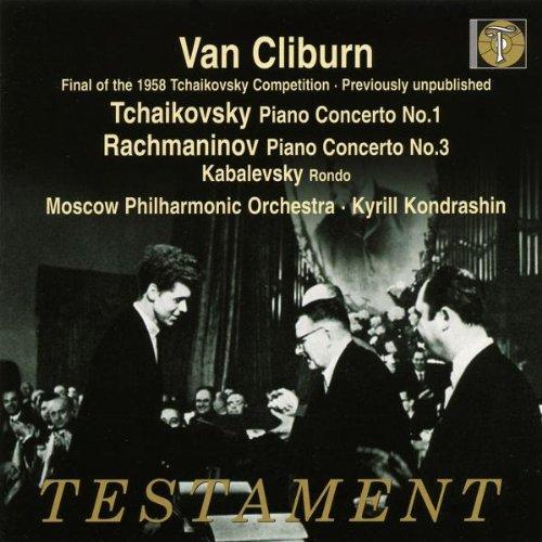 Van Cliburn: Rachmaninov - Piano Concerto No 3; Tchaikovsky - Piano Concerto No 1