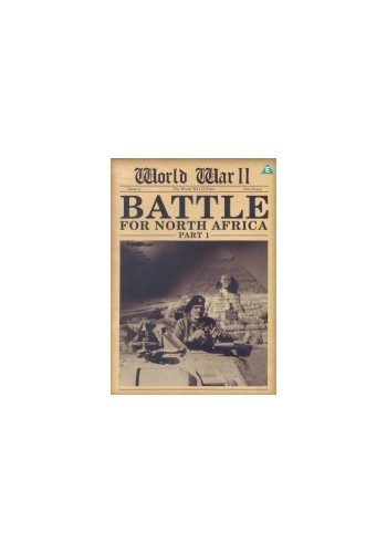 World-War-II-Battle-For-North-Africa-Part-1-DVD-CD-3GVG-FREE-Shipping