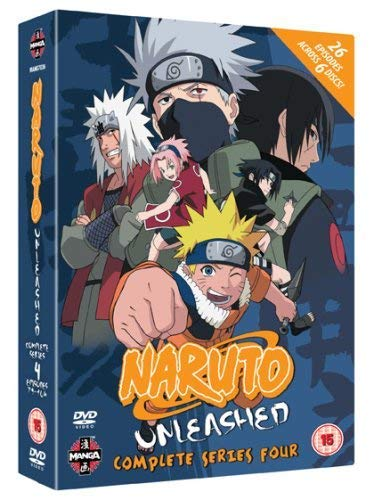 Naruto Unleashed - Complete Series 4