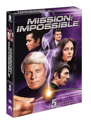 Mission-Impossible-Season-5-DVD-CD-6SVG-FREE-Shipping