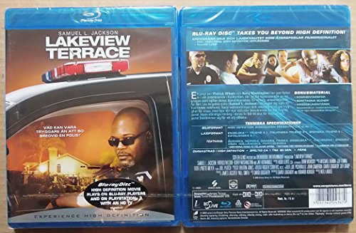 Nordic Import Lakeview Terrace Blu Ray English Audio