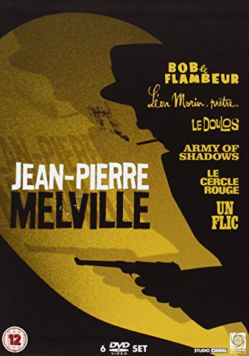 Jean-Pierre-Melville-Collection-DVD-CD-BUVG-FREE-Shipping
