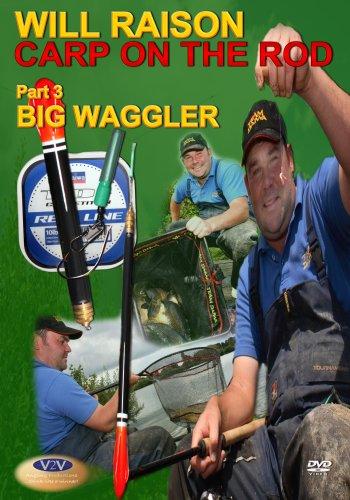 Will Raison Fishing Carp On The Rod Part 3 - Big Waggler DVD