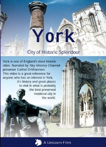 York-City-of-Historic-Splendour-DVD-CD-6CVG-FREE-Shipping