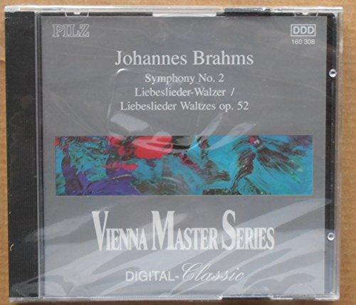 Brahms Symphony No. 2 Op 73 / Liebeslieder Waltzes Op. 52 - Very Good Condition