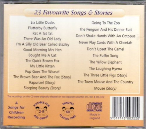 Various Artist - Various Artist - Children's Choice - 23 Favorite Songs &