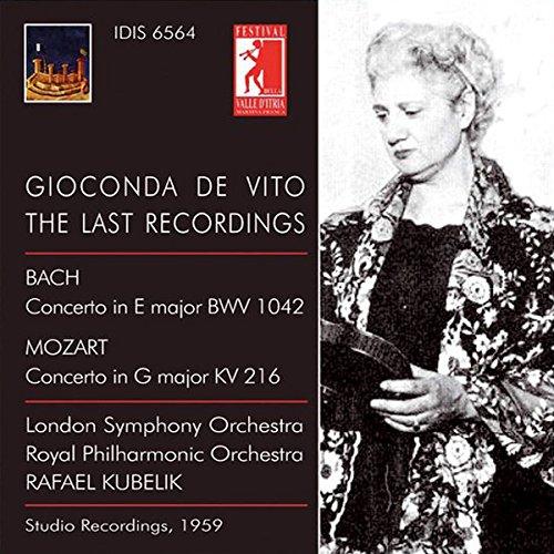 Bach/Mozart - Gioconda De Vito Ed. Vol.6 - T By BachMozart
