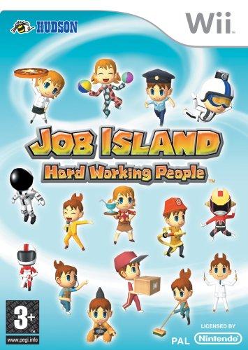 Job Island: Hard Working People (Nintendo Wii)