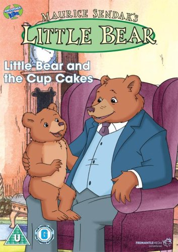 Maurice-Sendak-039-s-Little-Bear-Little-Bear-And-The-Cup-Cakes-DVD-CD-CUVG