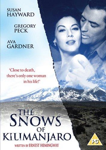 The snows of Kilimandjaro Ava Gardner movie poster