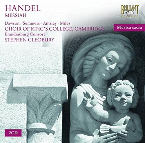 King College; Stephen Cleobury - Handel  Messiah By King College; Stephen Cleobury