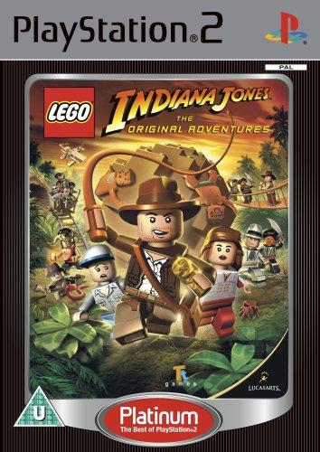 Lego Indiana Jones the Original Adventures  - Platinum Edition (PS2)