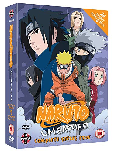 Naruto-Unleashed-Complete-Series-5-DVD-CD-L2VG-FREE-Shipping