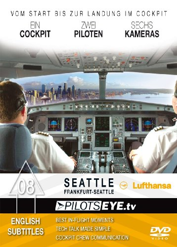 PilotsEYE.tv | Frankfurt - SEATTLE |:| DVD |:| Cockpitflight Lufthansa | A330-200 | Bonus: Boeing pl