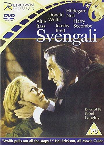 Svengali-DVD-1954-CD-7CVG-FREE-Shipping
