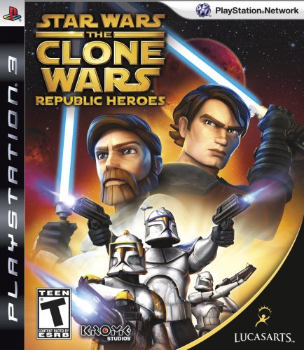 Star Wars The Clone Wars: Republic Heroes - Playstation 3 by LucasArts