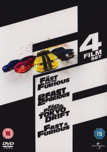 Fast-amp-Furious-1-4-Box-Set-DVD-DVD-HULN-The-Cheap-Fast-Free-Post