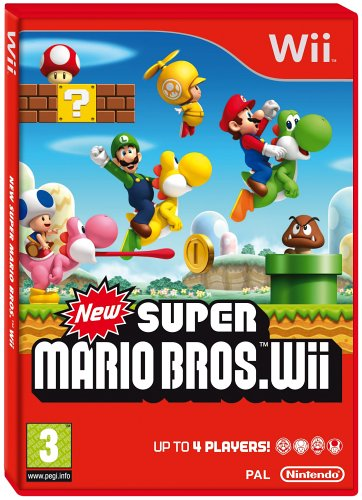 Wii - New Super Mario Brothers (Wii)