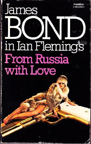 Image result for from russia with love book
