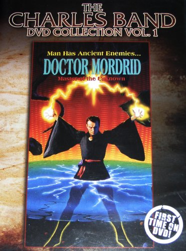 """Charles Band DVD Collection VOL 1 """"DOCTOR MORDRID"""" ALL REGION AUSTRALIAN IMPORT"""