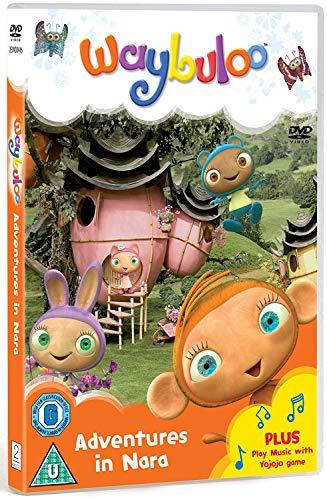 Waybuloo-Adventures-in-Nara-DVD-CD-GKVG-FREE-Shipping