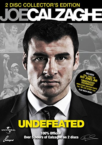 Joe-Calzaghe-My-Life-Story-Undefeated-DVD-CD-ZMVG-FREE-Shipping