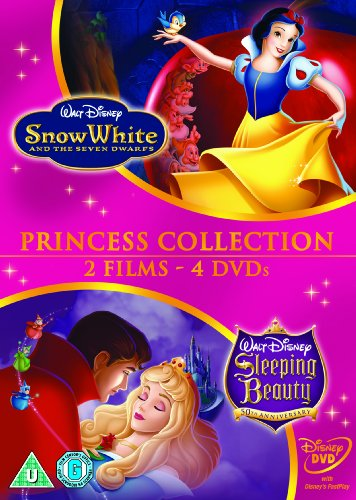 Snow-White-And-The-Seven-Dwarfs-Sleeping-Beauty-DVD-CD-ZMVG-FREE-Shipping