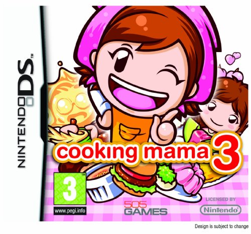 Cooking Mama 3 (Nintendo DS)