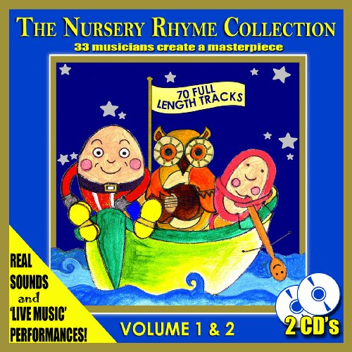Mike Wilbury - The Nursery Rhyme Collection - 33 Musicians Create A Nursery Rhymes Masterpiece [2 CD By Mike Wilbury