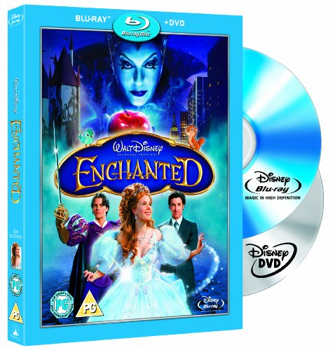 Enchanted Combi Pack (Blu-ray + DVD)