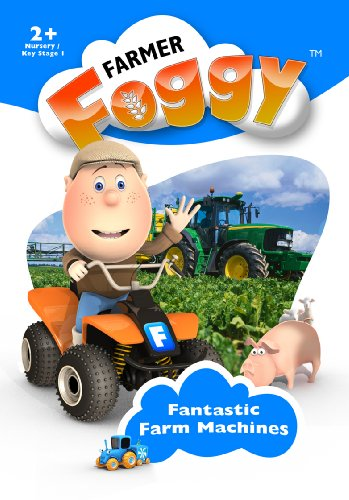 Farmer-Foggy-Fantastic-Farm-Machines-DVD-CD-UWVG-FREE-Shipping