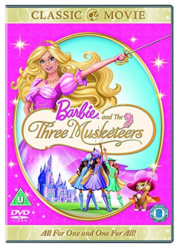 Barbie-Sing-Along-With-Barbie-Barbie-And-The-Three-Musketeers-DVD-CD-QSVG