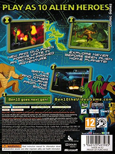 Ben 10 Alien Force: Vilgax Attacks (Xbox 360)