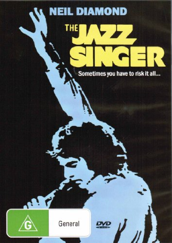 The Jazz Singer 25th Anniversary Edition  (Region 2 Compatible DVD , Full English Language Cover)