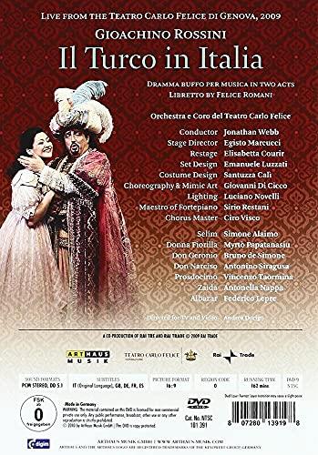 Teatro Carlo Felice Di Genova - Rossini - Il Turco In Italia